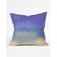 DENY DESIGNS Bonne Nuit Blue Pillow