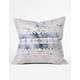 DENY DESIGNS Arctic Gold Tribal Pillow
