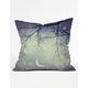 DENY DESIGNS Diamonds In The Sky Pillow