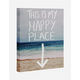 Happy Place Canvas Wall Art