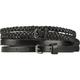 Two Piece Skinny Belts