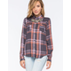 O'NEILL Norma Womens Plaid Shirt