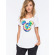 NEFF Disney Collection Tie Dye Mickey Womens Tee
