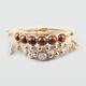 FULL TILT 3 Piece Beaded Wood Bracelet