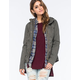 FULL TILT Twill Quilted Womens Anorak Jacket