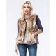 FULL TILT Womens Fur Vest