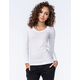 ACTIVE Basic V-Neck Womens Tee