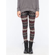 FULL TILT Wave Print Womens Leggings