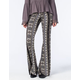 FULL TILT Ethnic Medallion Womens Flare Pants