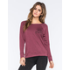 FULL TILT Take Me Anywhere Womens Sweatshirt