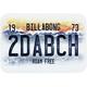 BILLABONG License to Thrill Sticker