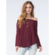 SOCIALITE Womens Crochet Lace Top