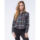 FULL TILT Womens Cropped Flannel Shirt