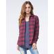FULL TILT Multi Womens Extreme Fit Flannel Shirt
