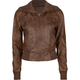 FULL TILT Faux Leather Womens Bomber Jacket