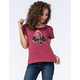 FULL TILT Scenic Diamond Womens Open Back Tee