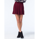 H.I.P. Sweater Rib Skater Skirt