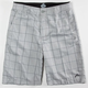 RUSTY Dispatch Mens Hybrid Shorts