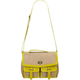 T-SHIRT & JEANS Flapover Jute Handbag