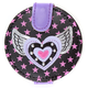 FLUFF Winged Heart Snap Mirror