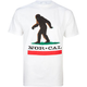 NOR CAL Big Foot Country Mens T-Shirt