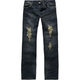 ALMOST FAMOUS Deconstructed Girls Jeans