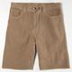 BURNSIDE Corduroy Mens Shorts
