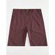 HURLEY Dri-FIT Mens Chino Shorts