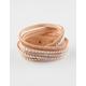 FULL TILT 4 Row Rhinestone Stud Wrap Bracelet