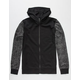 BROOKLYN CLOTH Concrete Mens Zip Hoodie