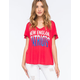 JUNK FOOD Patriots Womens Tee