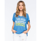 JUNK FOOD San Diego Chargers Womens Tee