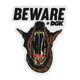 DGK Beware Sticker