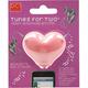 Tunes For Two Heart Headphone Splitter