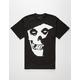 FAMOUS STARS & STRAPS Misfits Badge Mens T-Shirt