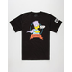 NEFF x The Simpsons Bartman Mens T-Shirt