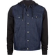 MATIX Hemsworth Mens Hooded Denim Jacket