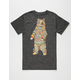 RIOT SOCIETY Ornate Bear Mens T-Shirt