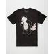 RIOT SOCIETY Panda Donut Bubbles Mens T-Shirt