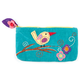 Bird Applique Pouch