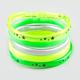 FULL TILT 5 Piece Neon Glitter Jelly Bracelets