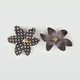 FULL TILT 2 Piece Dotted Flower Hair Clips