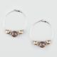 FULL TILT Leopard Ball Hoop Earrings