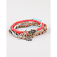 FULL TILT 5 Piece Elephant/Hamsa/Love Bracelets