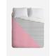 DENY DESIGNS Pink N Stripes Duvet Cover