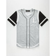 CIVIL Running Stitch Mens Baseball Jersey