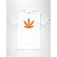 SKATE MENTAL Pizza Leaf Mens T-Shirt