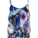 LOVE SQUARED Floral Ruffle Womens Top