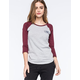 VANS Authentic Womens Raglan Tee