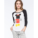 NEFF Disney Collection Minnie Blocks Womens Raglan Tee